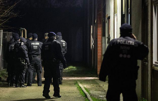 Akcja policji przeciwko nielegalnym imigrantom w Recklinghausen