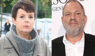 """Korwin Piotrowska o Weinsteinie: """"Mamy mały rynek i takie rzeczy jak molestowanie od razu by wyszły"""""""