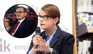 Karolina Korwin Piotrowska skrytykowała premiera Mateusza Morawieckiego