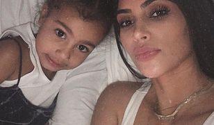 Córka Kim Kardashian wzięła udział w sesji zdjęciowej