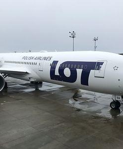 Nowy Dreamliner LOT-u już w kraju. Tak wyglądał inauguracyjny rejs