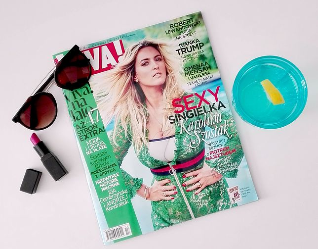 "Karolina Szostak w magazynie ""Viva!"""
