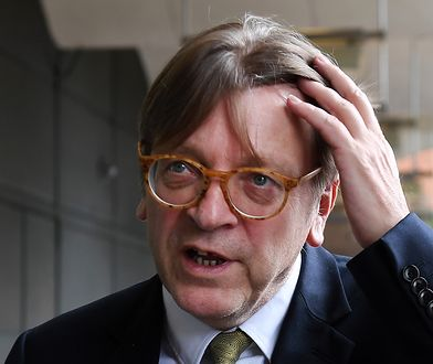 Europosłowie piszą do szefa PE. Nie odpuszczają Verhofstadtowi za słowa o Kaczyńskim