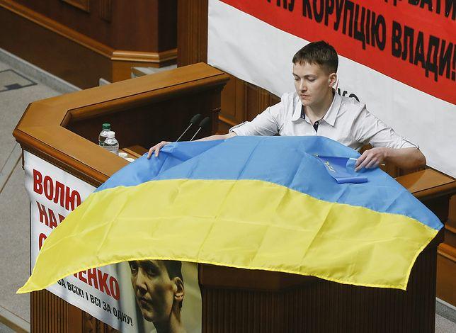 Od bohatera do terrorystki. Prokurator: Sawczenko chciała wysadzić ukraiński parlament