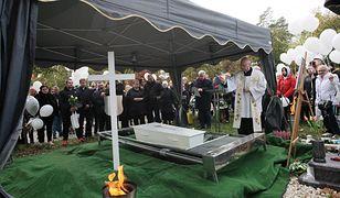 Gorzów Wielkopolski, 16.10.2021. Pogrzeb tragicznie zmarłego 4-letniego Piotrusia (amb) PAP/Lech Muszyński