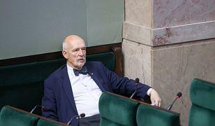 Skandaliczna wypowiedź Janusza Korwina-Mikkego w TVP Info