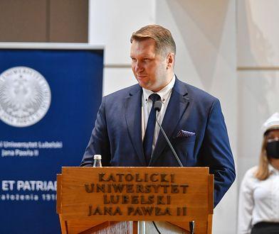 Przemysław Czarnek wygłosił wykład inauguracyjny