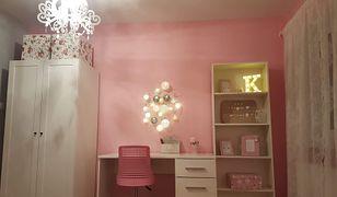 12-letnia Krysia marzyła o różowych ścianach w pokoju.