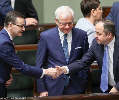 Mateusz Morawiecki, Jacek Czaputowicz, Konrad Szymański