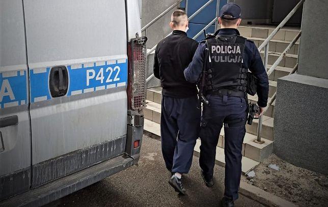 Śląskie. 19-letni mężczyzna odpowie za rozbój w Mikołowie z użyciem niebezpiecznego narzędzia.