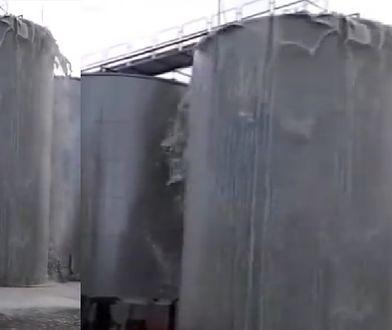 30 tys. litrów prosecco wylało się na ziemię. Po awarii silosu