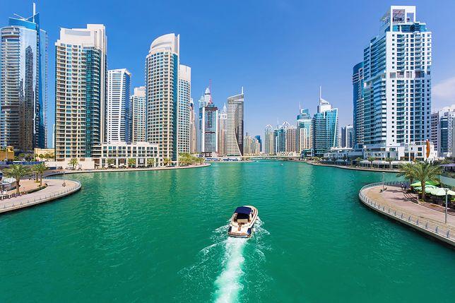 Dubaj w Zjednoczonych Emiratach Arabskich zachwyca swoją architekturą
