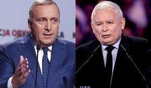 """Grzegorz Schetyna i Jarosław Kaczyński - liderzy dwóch skłóconych """"plemion"""""""