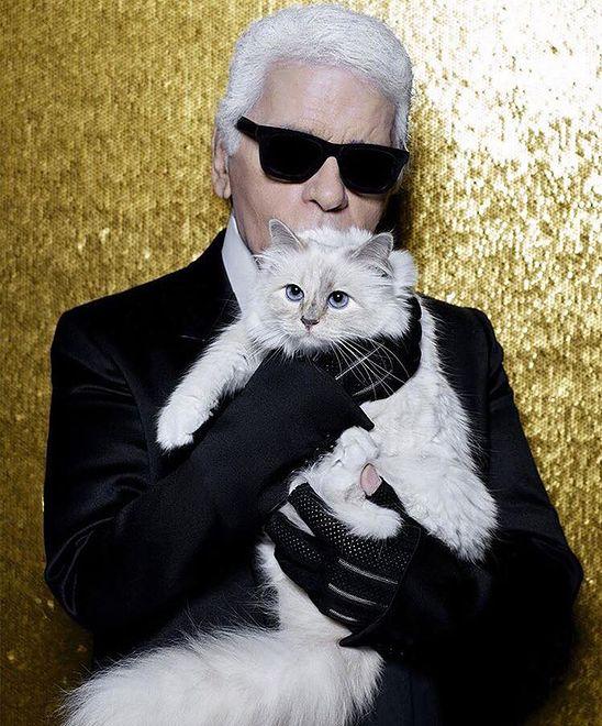 Lagerfeld słynął z miłości do swojej kotki