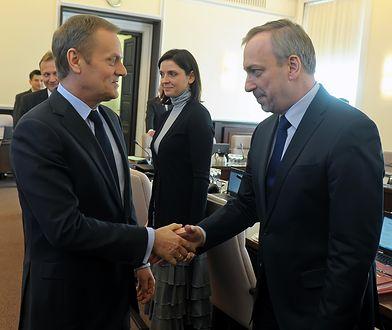 Donald Tusk był szefem rządu, do którego wszedł Bogdan Zdrojewski