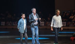 Richard Hammond i ekipa podczas motoryzacyjnego show