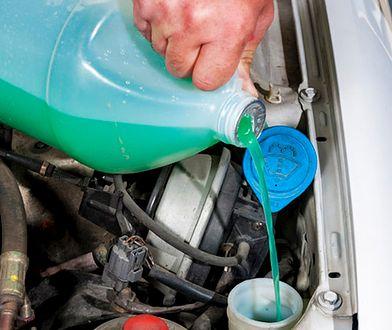 Uwaga na płyny do spryskiwaczy z metanolem