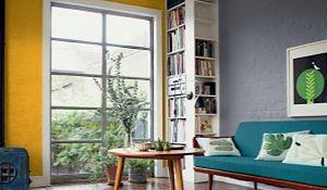 Kolorowe ściany. Jak z sukcesem zastosować żywy kolor ścian?