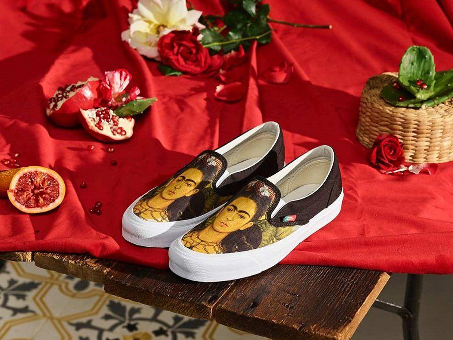 Vans ma kolekcję tenisówek z Fridą Kahlo