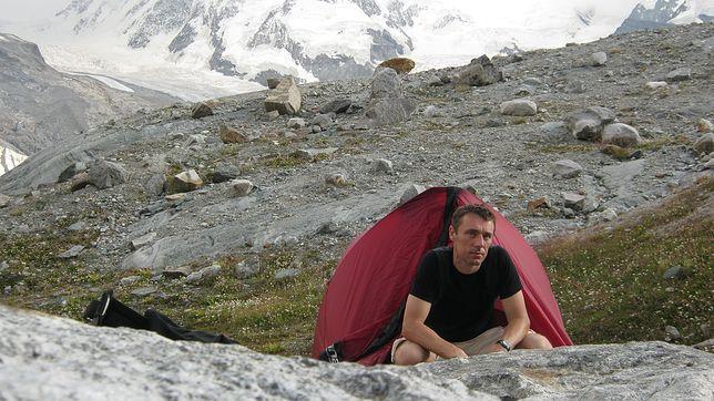 Pan Dariusz ma na swoim koncie zdobycie Korony Gór Polski oraz wejście na najwyższe szczyty Alp