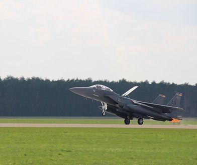 """Kilkadziesiąt myśliwców z USA w Polsce. """"To są standardowe ćwiczenia"""""""