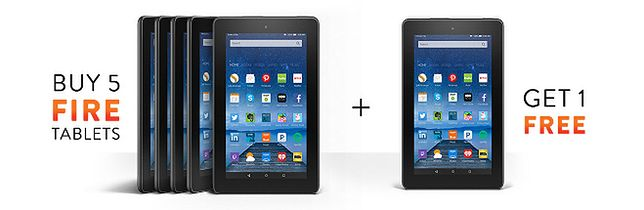 Kup sześciopak... tabletów Amazonu. Zapłacisz mniej, niż za iPada