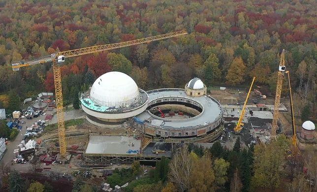 Trwa remont Planetarium Śląskiego