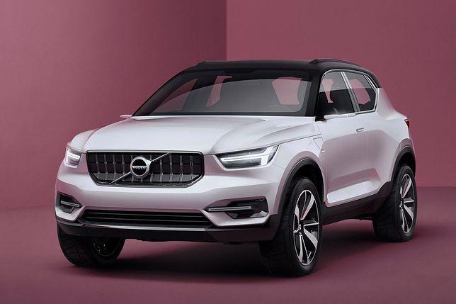 Volvo обещает компактный внедорожник XC40 необычным способом