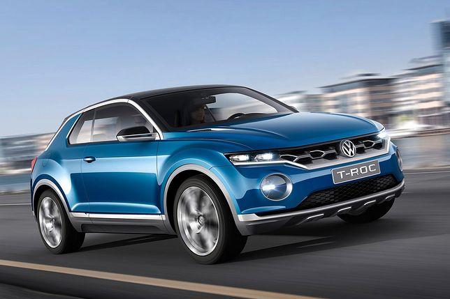 Volkswagen T-Roc Concept из Женевы.