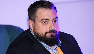 """Tomasz Sekielski, reżyser dokumentu """"Tylko nie mów nikomu""""."""