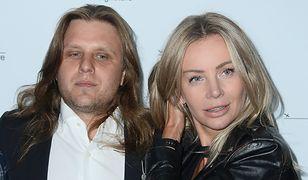 Agnieszka Woźniak-Starak i jej mąż budzą zainteresowanie