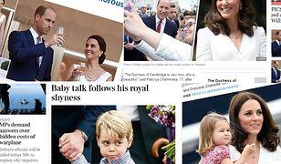 Wizyta Kate i Williama z dziećmi w obiektywie brytyjskich mediów
