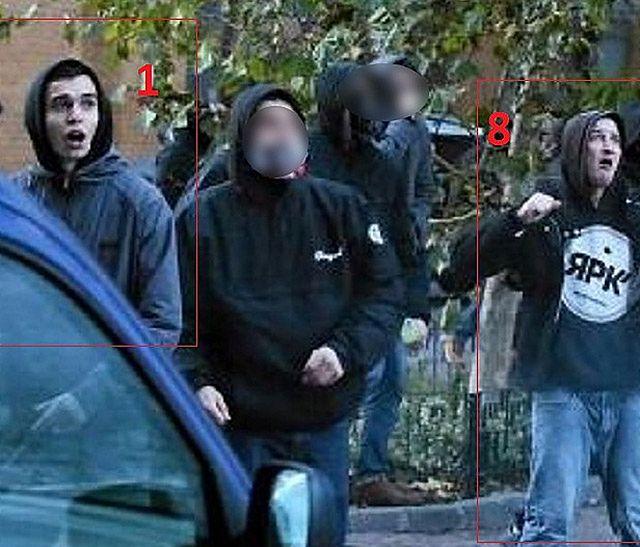 Brali udział w burdach 11 listopada. Rozpoznajesz ich?