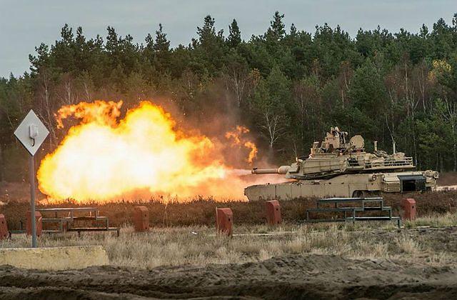 Czołg Abrams - US Army