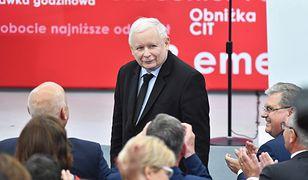 Jarosław Kaczyński podczas konwencji PiS w Koszalinie uderzył w poprzedni rząd i Donalda Tuska