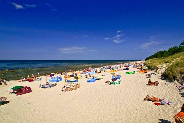 Plaże nad Bałtykiem - Wisełka