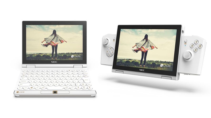 Lavie Mini: spotkał pewnego razu Nintendo Switch laptopa
