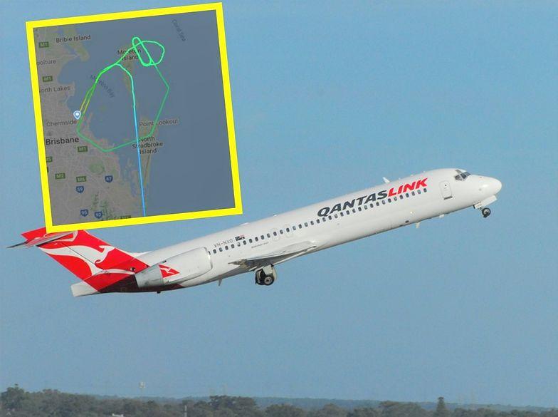 Awaryjne lądowanie samolotu. Wyciekły dramatyczne nagrania