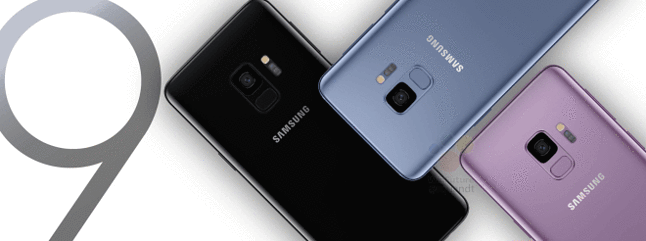 Rzekome zdjęcie prasowe Samsunga Galaxy S9, źródło: WinFuture