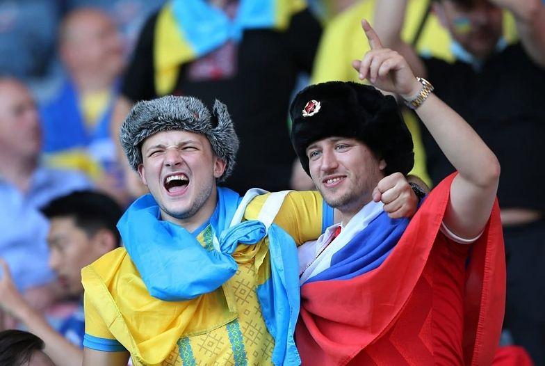 Rosjanin i Ukrainiec. Smutna prawda o słynnym zdjęciu z Euro2020