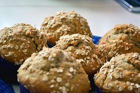 Muffiny pełnoziarniste z otrębami