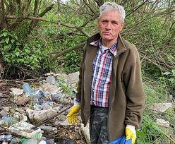 Bezinteresowny wyczyn polskiego emeryta. Wyniósł z lasu 100 ton śmieci!