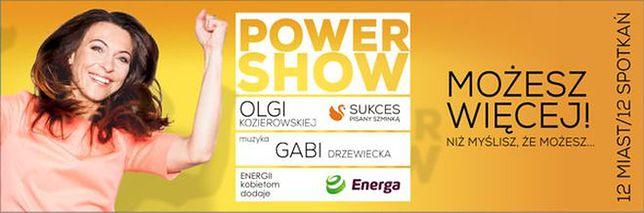 Power Show Olgi Kozierowskiej pierwszy raz w Kielcach już 15 października