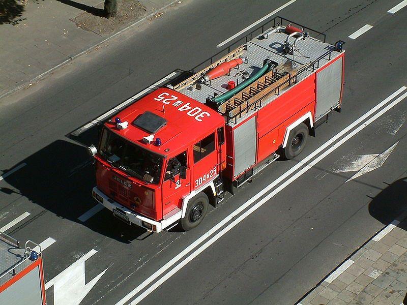 Dzisiaj w nocy wybuchł pożar na Pradze!