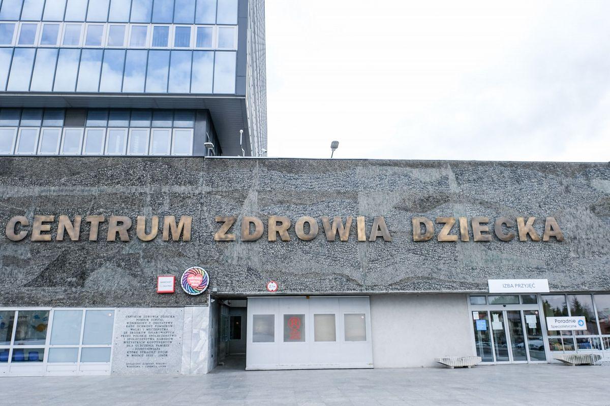 Koronawirus w Warszawie. Zarażony lekarz z Centrum Zdrowia Dziecka