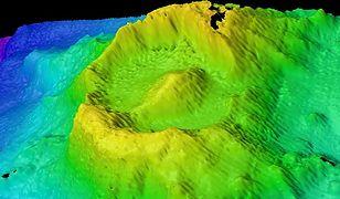 Nowoodkryty wulkan Oko Saurona na Oceanie Indyjskim.