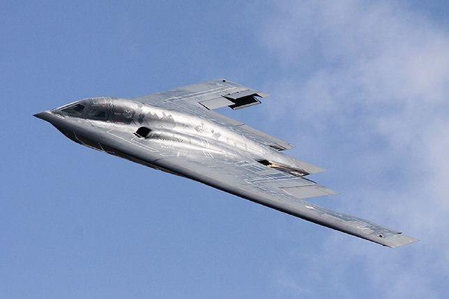 Bombowiec B-2 Spirit wylądował w Europie