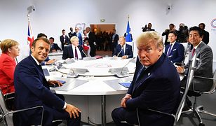 Donald Trump zapewnia, że szczyt G7 przebiega we wspaniałej atmosferze