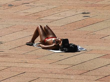 Grzywna za bikini!