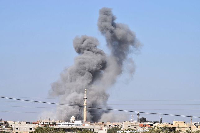 Syria. Naloty na obóz dla uchodźców. Wśród ofiar dzieci